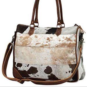 Cowhide Laptop Bag or Tote